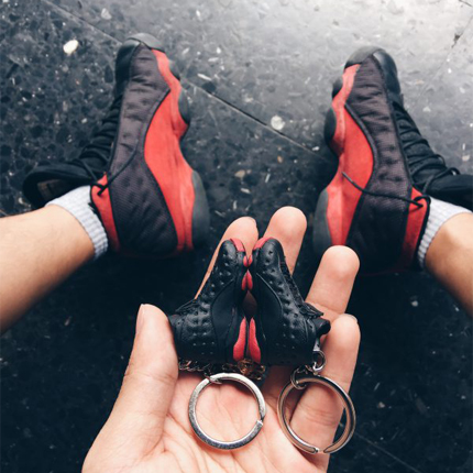 3D SNEAKER KEYCHAINS